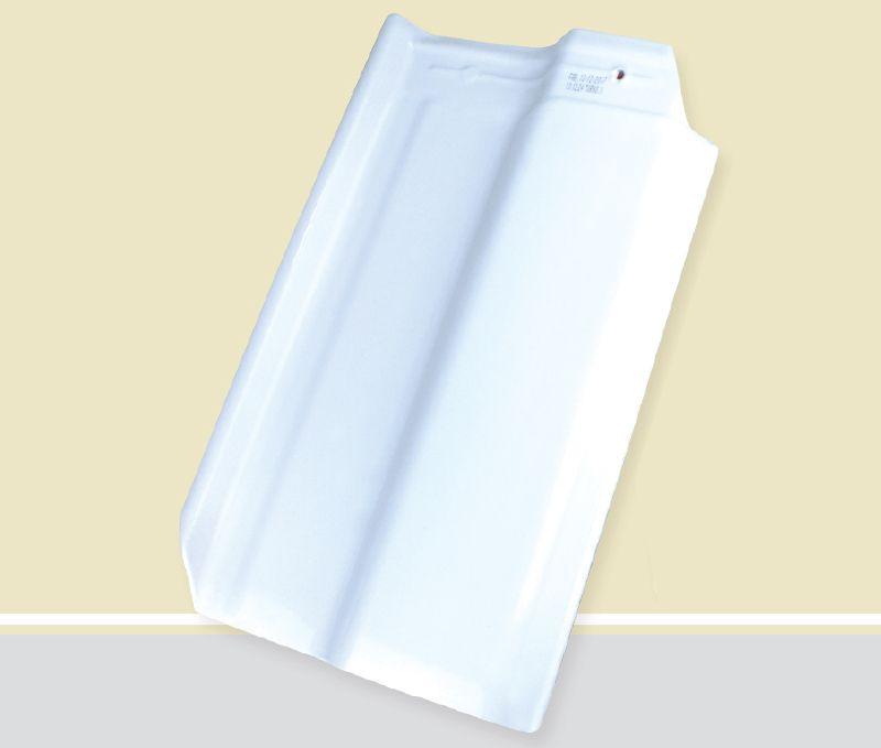 Telha romana cor branco