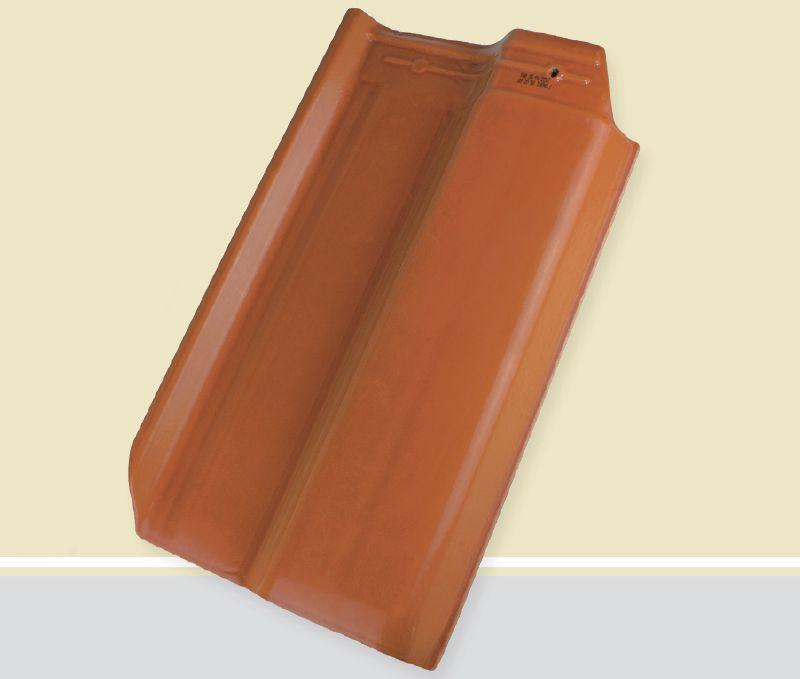 Telha romana cor caramelo